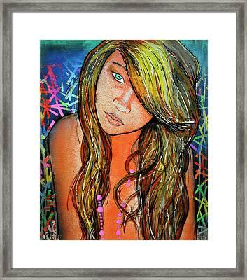 Girl 22 Framed Print