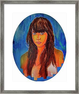 Girl 23 Framed Print