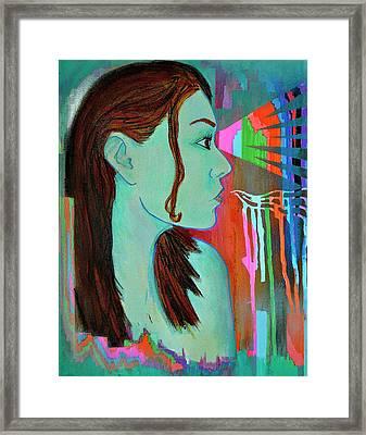 Girl 24 Framed Print