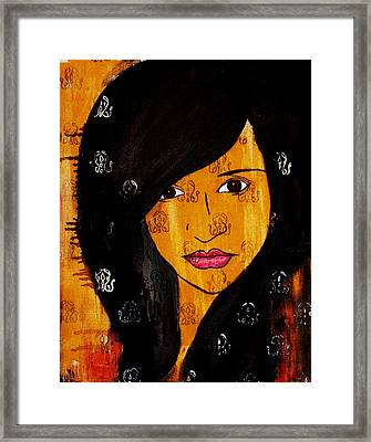 Girl 3 Framed Print