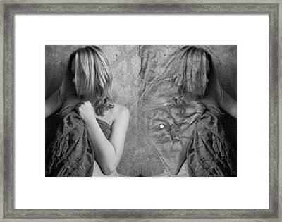 Girl #4335 Framed Print by Andrey Godyaykin