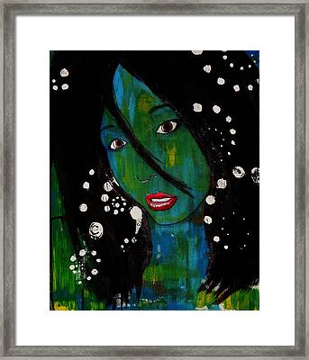Girl 8 Framed Print