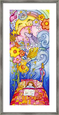 Sweet Dreams Framed Print by Barbara Esposito