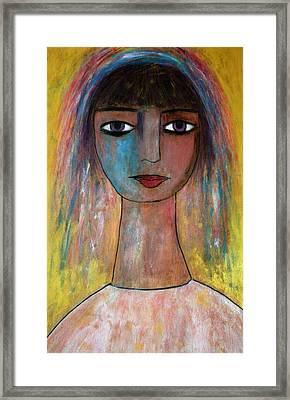 Girl From India.. Framed Print