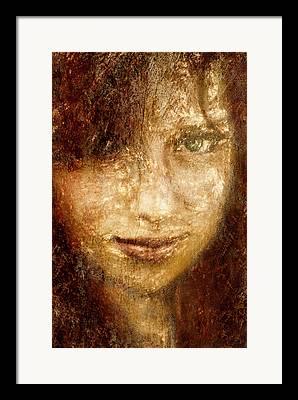Youthful Digital Art Framed Prints