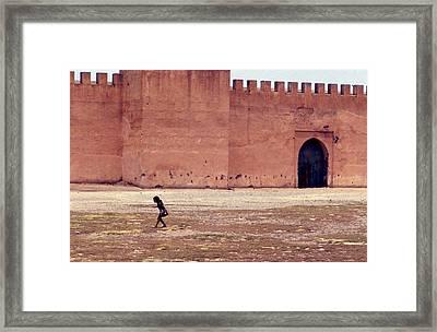 Girl In Marrakesh  Framed Print