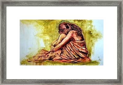 Girl Framed Print by Ivan Guaderrama