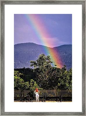 Everlasting Hope Framed Print