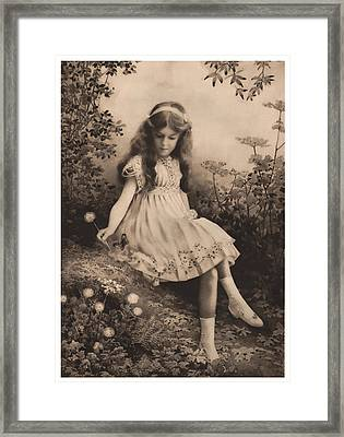 Girl Portrait Framed Print