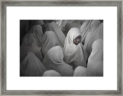 Girl Framed Print by Salim Albusaidi