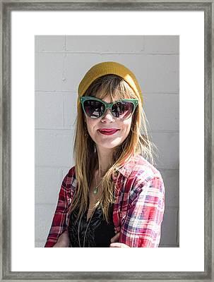 Girl Framed Print by William Morris