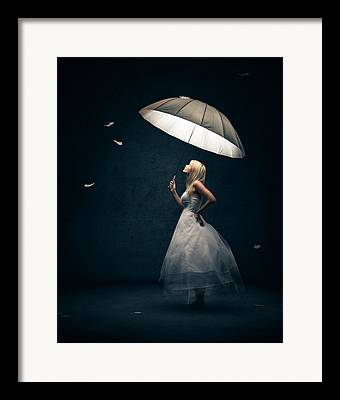 Dark Background Framed Prints
