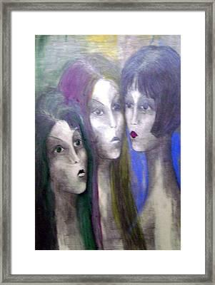 Girl Framed Print by Wojtek Kowalski
