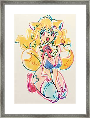 Girl03 Framed Print