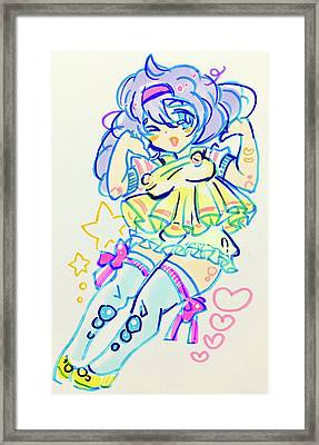 Girl04 Framed Print