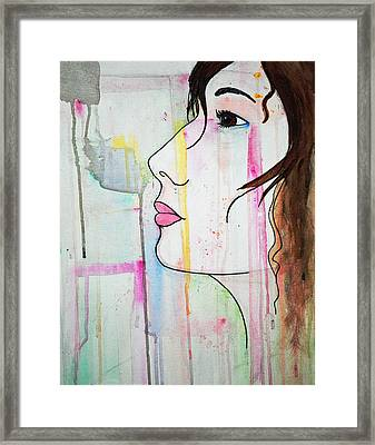 Girl10 Framed Print