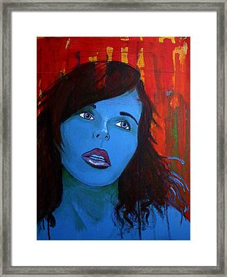 Girl5 Framed Print