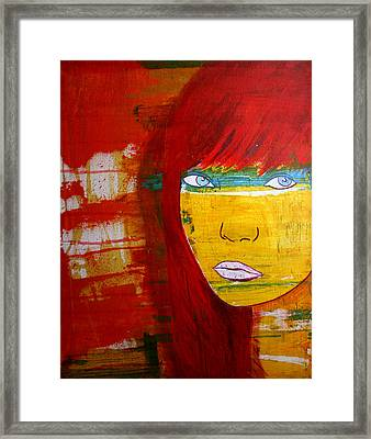 Girl6 Framed Print