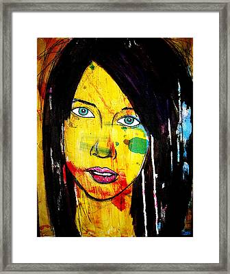 Girl9 Framed Print