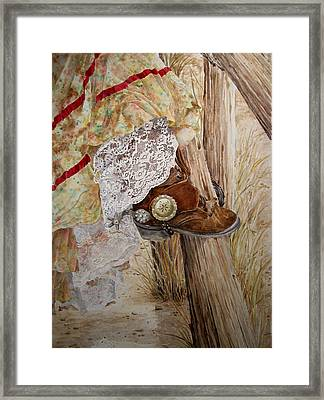 Girls Just Wanna Framed Print by Theresa Higby