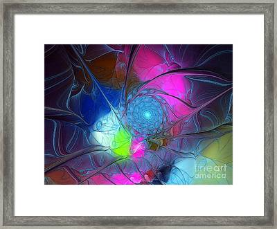 Framed Print featuring the digital art Girls Love Pink by Karin Kuhlmann