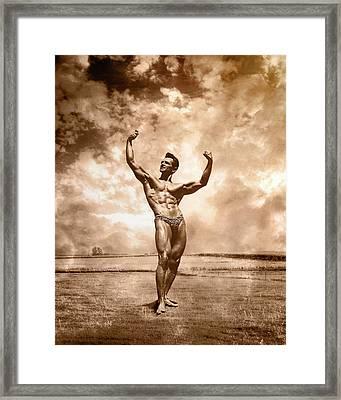 Gironda Fine Art Framed Print by Male Vision