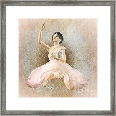 Giselle Framed Print by Methune Hively