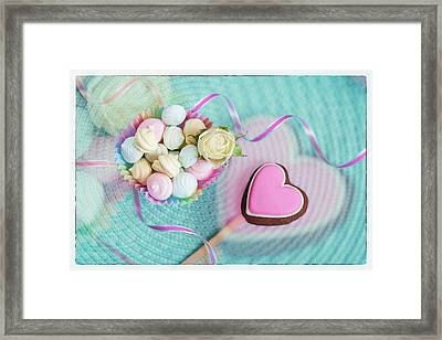 Give A Little Sweet Love   Framed Print