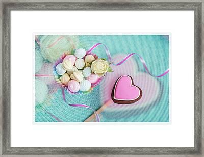 Give A Little Sweet Love   Framed Print