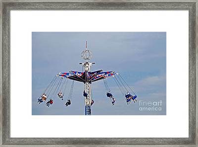 Give It A Spin Framed Print