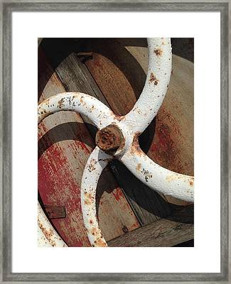 Framed Print featuring the photograph Give It A Turn by Olivier Calas
