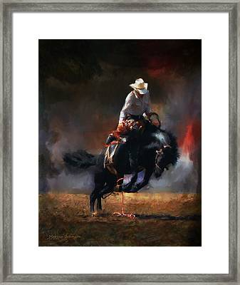 Give Me A Wild Ride Framed Print