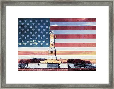 Give Me Liberty Framed Print by Dan Sproul