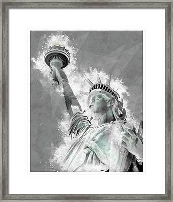 Give Me Liberty  Framed Print