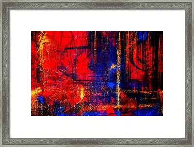 Give Me Life Framed Print by Victoria Dietz