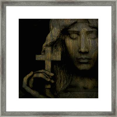 Give Me Peace On Earth Framed Print by Paul Lovering