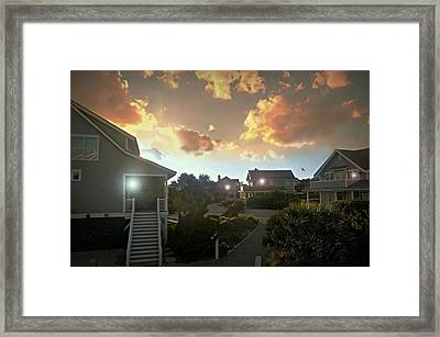 Give Me The Night Framed Print