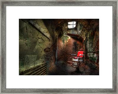 Give Me The Usual Framed Print by Lori Deiter