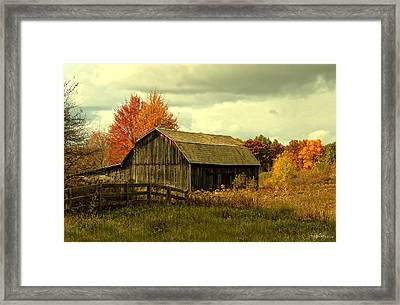 Fall Has Always Been My Favorite Season. Framed Print by Skip Tribby