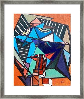 Give Us This Day Framed Print by Valerie Wolf