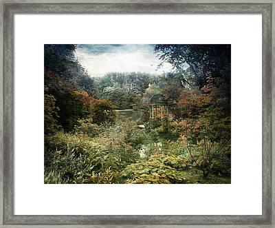 Given Time To Reflect Framed Print