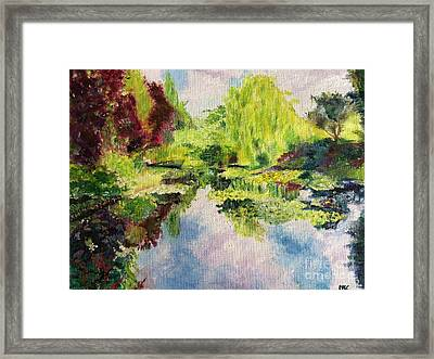 Giverney Framed Print