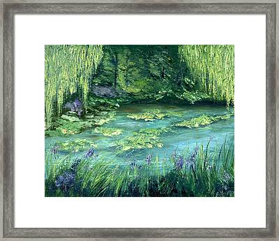 Giverny Framed Print by Gail Kirtz