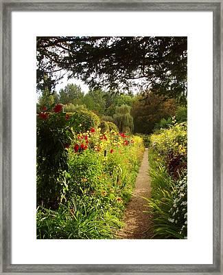Giverny I Framed Print by Wendy Uvino