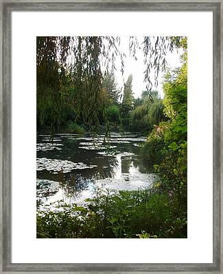 Giverny IIi Framed Print by Wendy Uvino