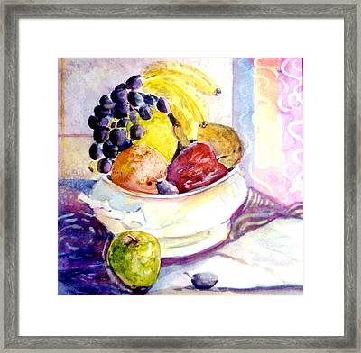 Giving Thanks Framed Print by Mindy Newman