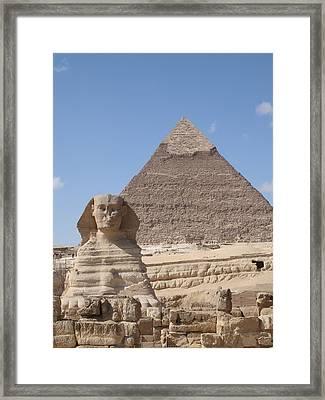 Giza Framed Print