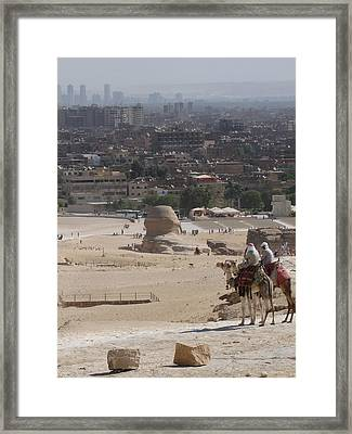 Giza To Cairo Framed Print