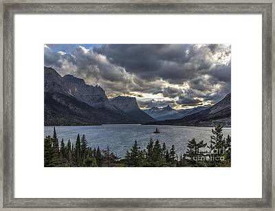 Glacier - Wild Goose Island Framed Print