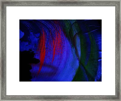 Glacial Epoch Framed Print by Nereida Slesarchik Cedeno Wilcoxon